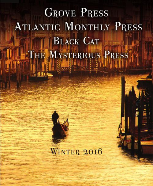 Grove Atlantic Winter 2016 Catalog