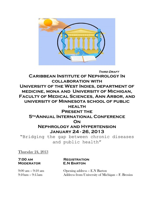 5th Annual Conference Programme