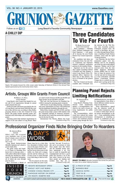 Grunion Gazette | January 22, 2015