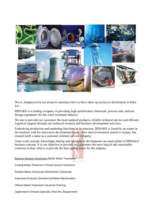shopperscirclebimaaksWATERTREATMENT