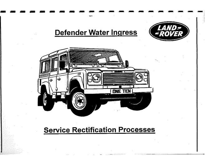 WaterIngressManual