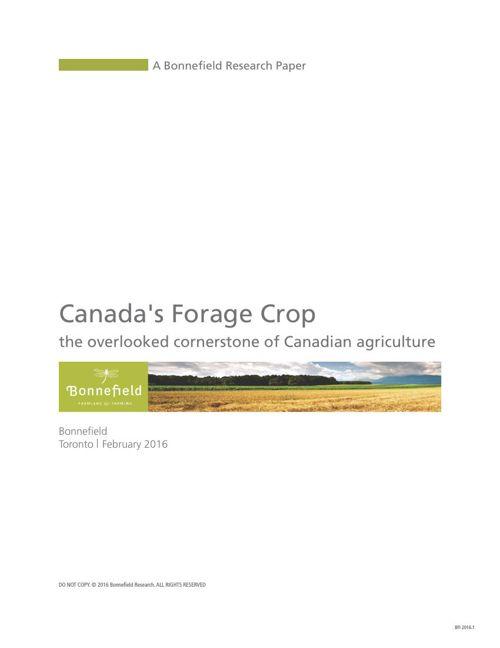 Canadas Forage Crop