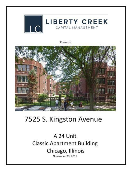 7525 S Kingston Chicago