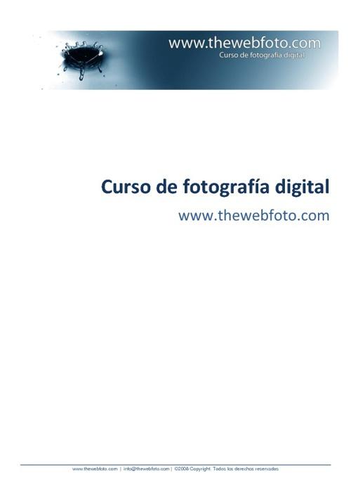 Curso Avanzado Fotografia Digita II