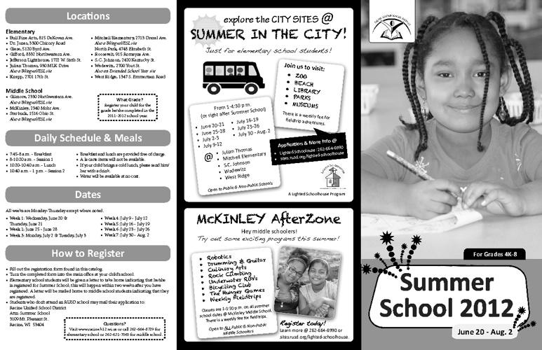 Summer School 2012 Catalog 2