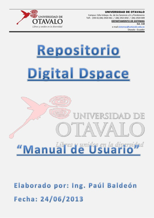 Manual de Usuario Dspace UO