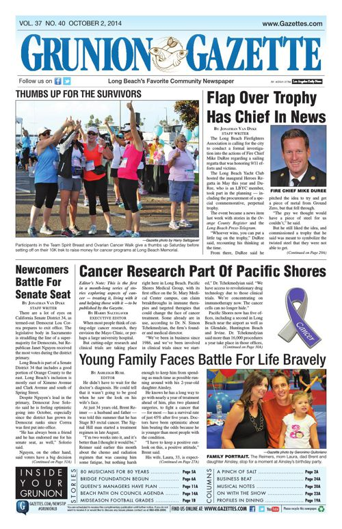 Grunion Gazette | 10-2-14
