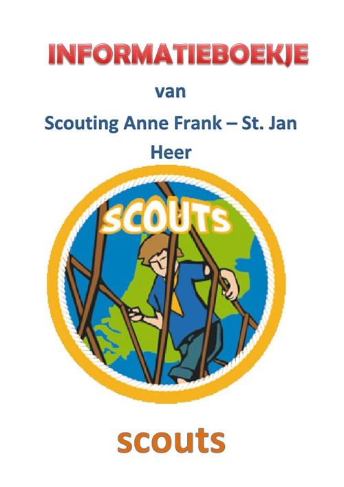 Infoboekje Scouts
