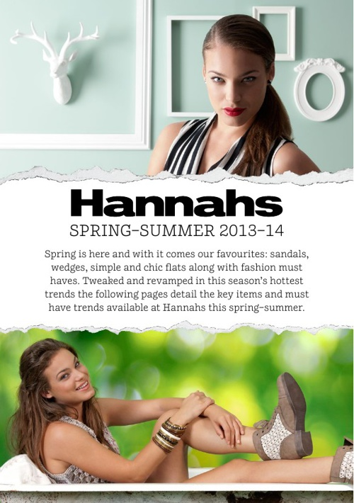 Hannahs Spring/Summer 13/14 Lookbook