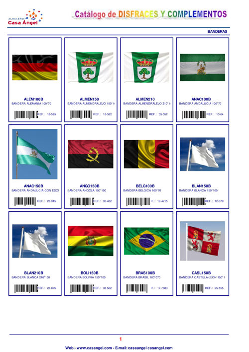 Catálogo de Banderas 2017