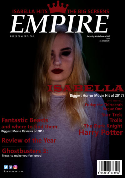 Magazine Cover for Isabella
