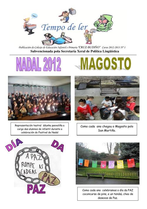 Revista Nº1 - Curso 2.012-2.013