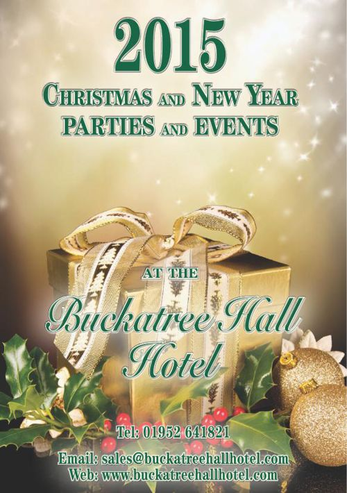 Buckatree Hall Hotel Christmas Brochure 2015