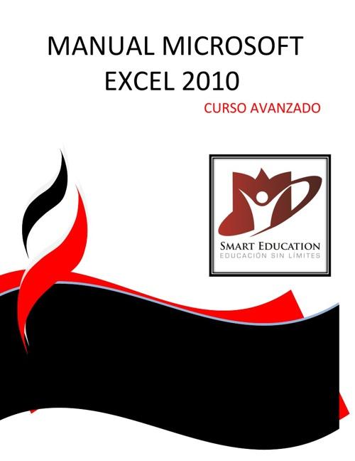 CURSO DE MICROSOFT EXCEL 2010 AVANZADO CON PORTADA