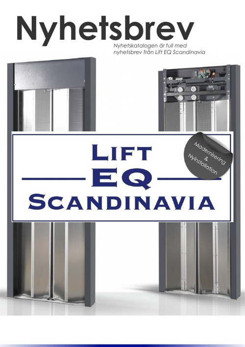 Lift EQ Scandinavia AB Nyhetskatalog.
