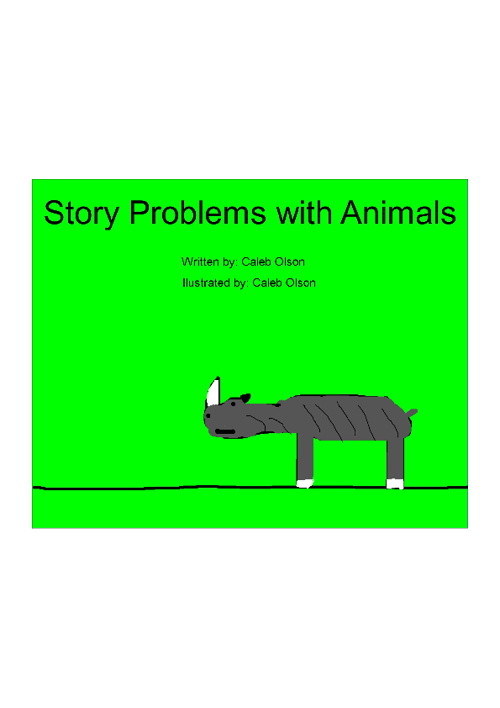 Story Problems With Animals
