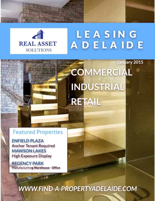 Adelaide For Lease January 2015