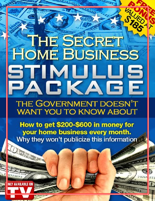 The Secret Home Stimulus Package
