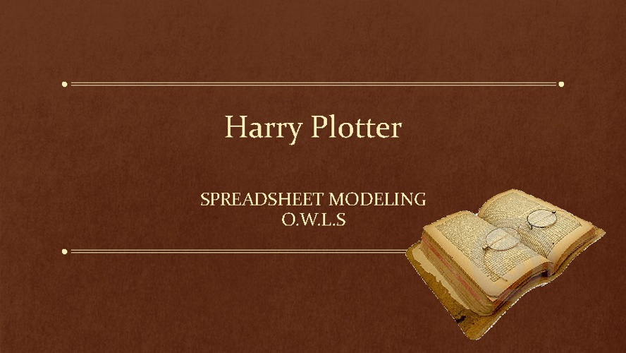 Harry Plotter