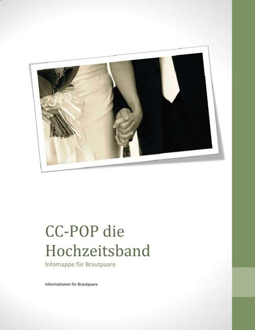 Infomappe für Brautpaare