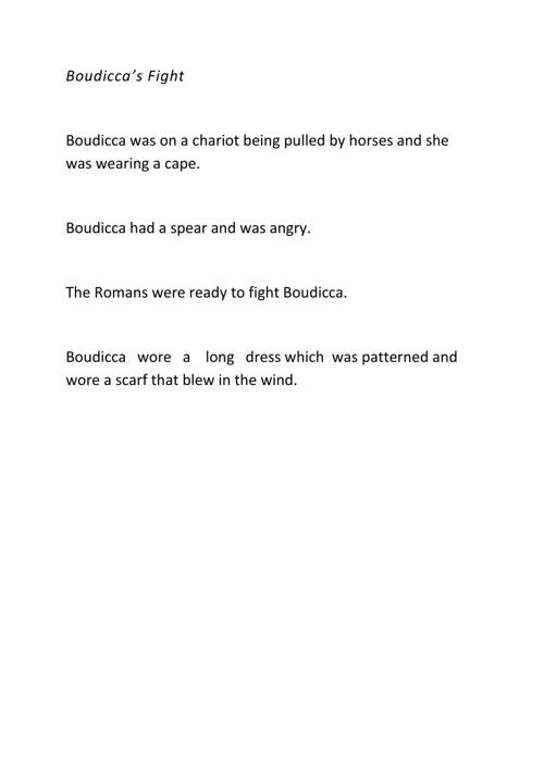 Boudicca's Fight