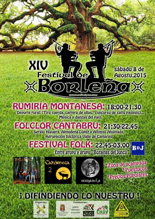 Festival de Borleña '15 - Comercios colaboradores destacados