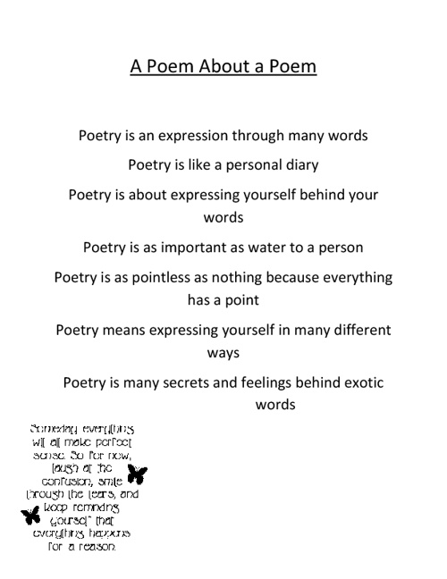 Tiara's poetry