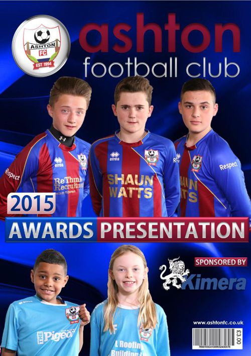 Ashton Awards Programme 2015