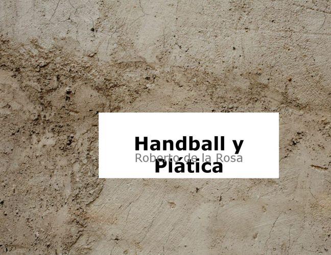 Handball y Conferecia