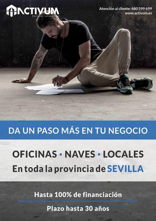 Oficinas, naves y locales en la provincia de Sevilla