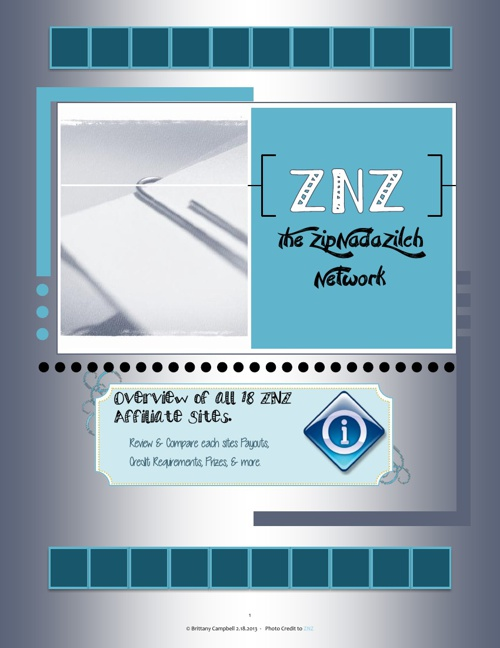 Overview of ZNZ's 18 Sites