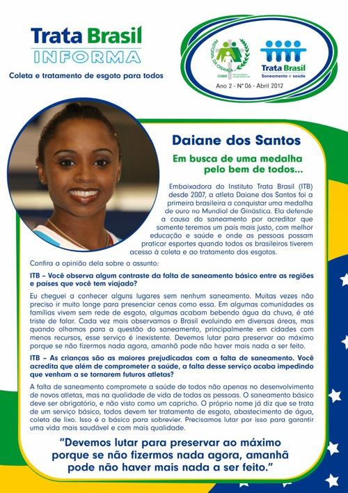 6ª Edição do Boletim Trata Brasil / Pastoral da Criança