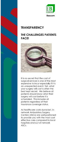 Bascom Transparency brochure