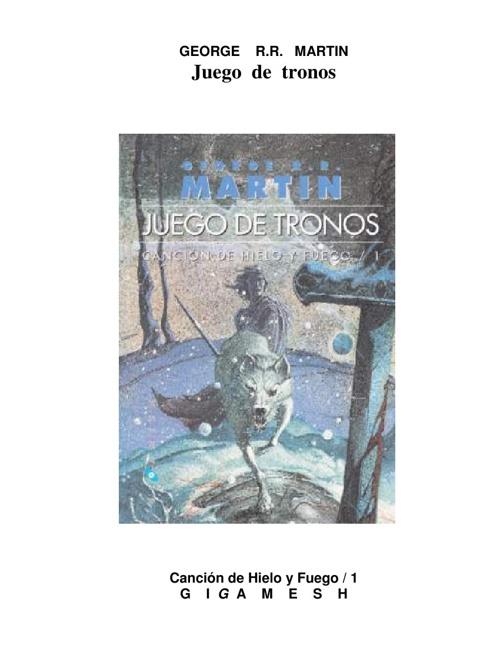 01 - juego de tronos