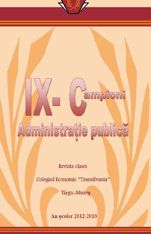 Revista clasei a IX a C
