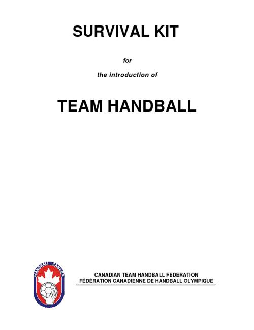 Handball Resource
