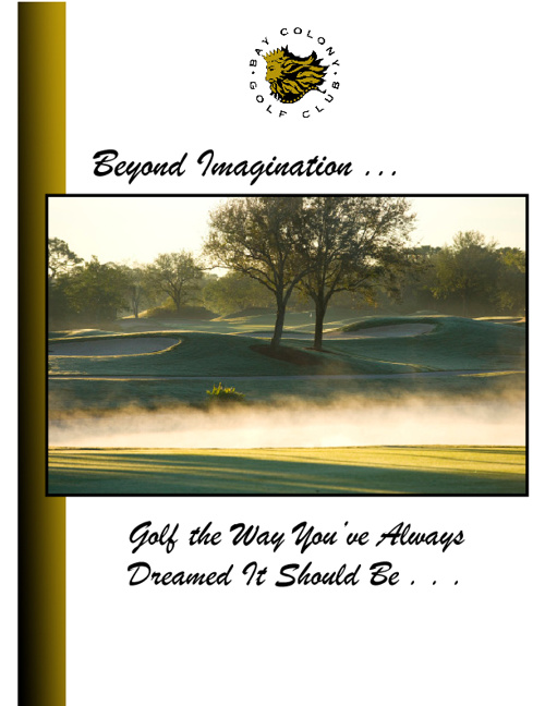 Bay Colony Golf Club Brochure