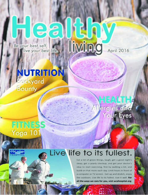 Healthy Living - The Post-Journal - April 2016