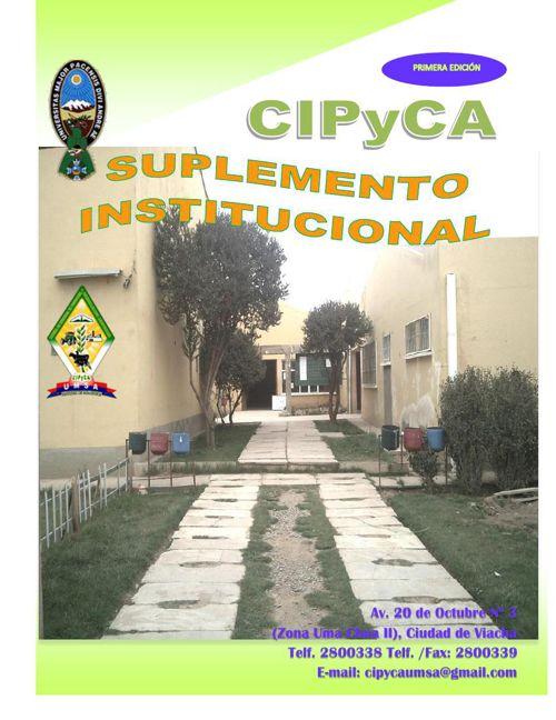 REVISTA CIPYCA