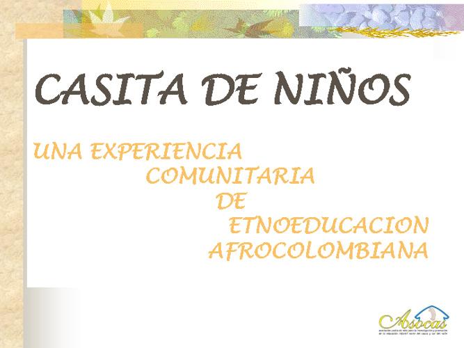 CASITA DE NIÑO