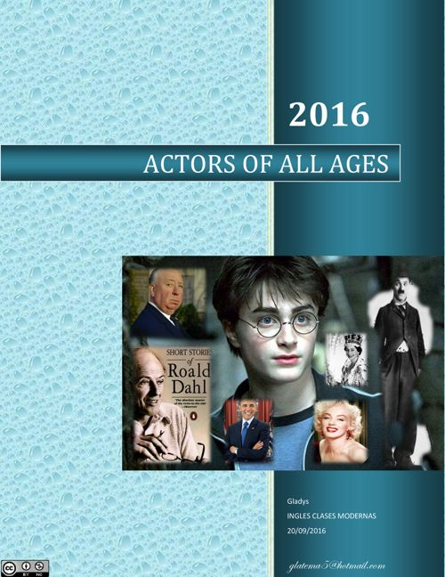 Actors of All Ages Booklet 2017