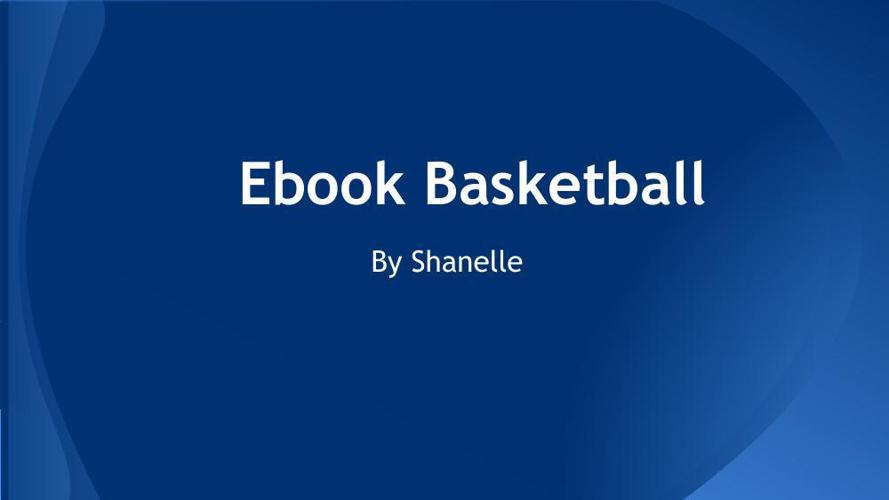 e book basketball