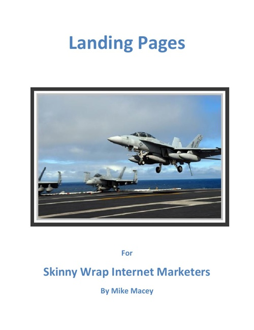 Landing Pages Mar 2015