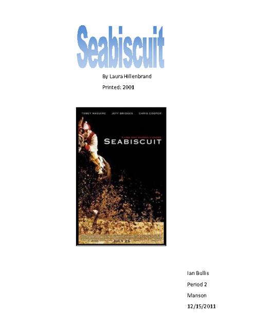 Ian Bullis: Seabiscuit