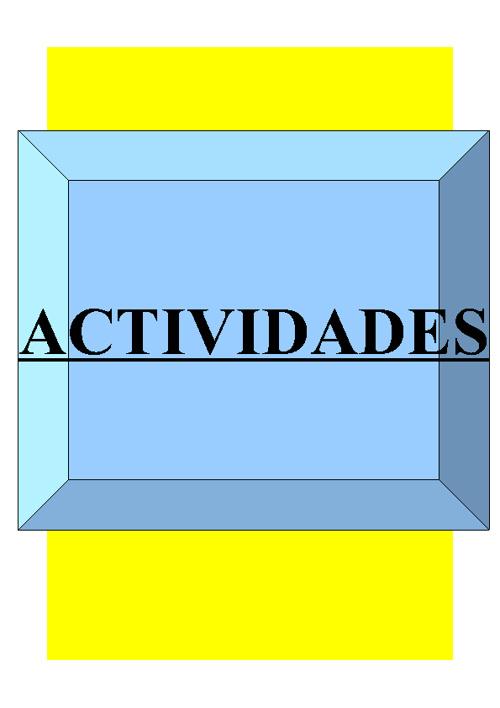 ACTIVIDADES TEMA 13