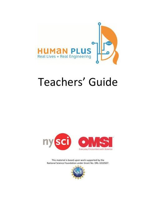 Human-+-TeacherGuide