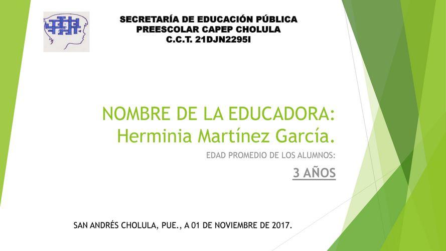 Herminia Martínez García