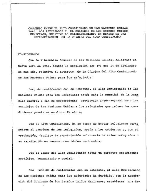 Convenio de Repatriación Mexico-E.U.