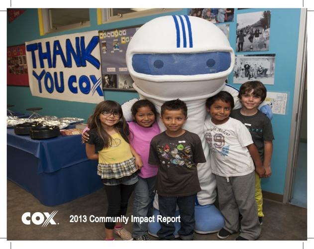 Cox Cares - 2013 Annual Report