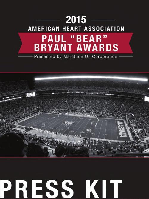 "2015 Paul ""Bear"" Bryant Awards"